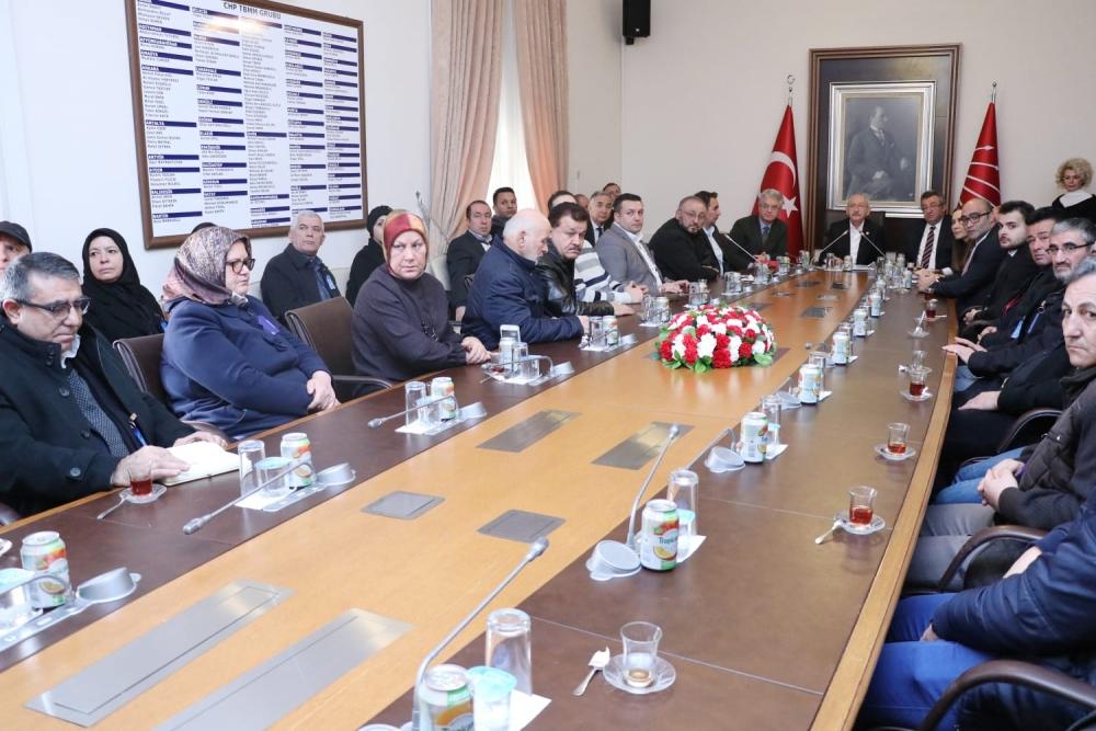Kombassan mağdurları, Kılıçdaroğlu ile görüştü galerisi resim 1