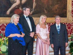 Bavyera Başbakanı'nın yeni yıl daveti