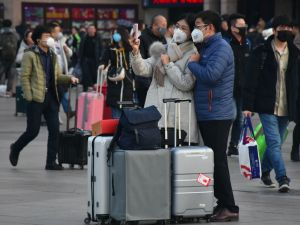 Çin, fare yılına Corona gölgesinde girdi