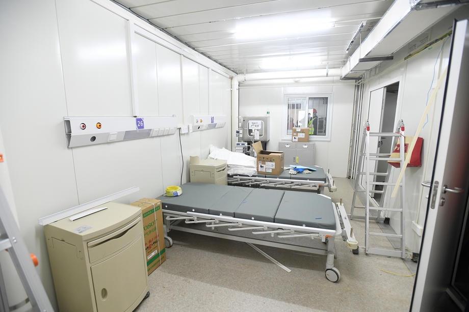 Çin, 10 günde inşa ettiği hastaneyi açtı galerisi resim 1