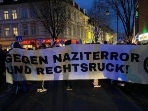 Almanya'da yükselen ırkçılık protestosu
