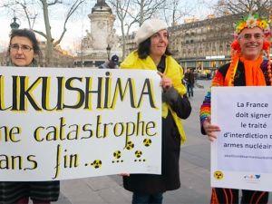 Fukuşima kurbanları unutulmadı