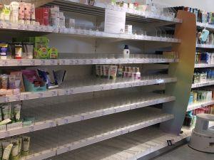 Almanya'da market rafları boşaldı