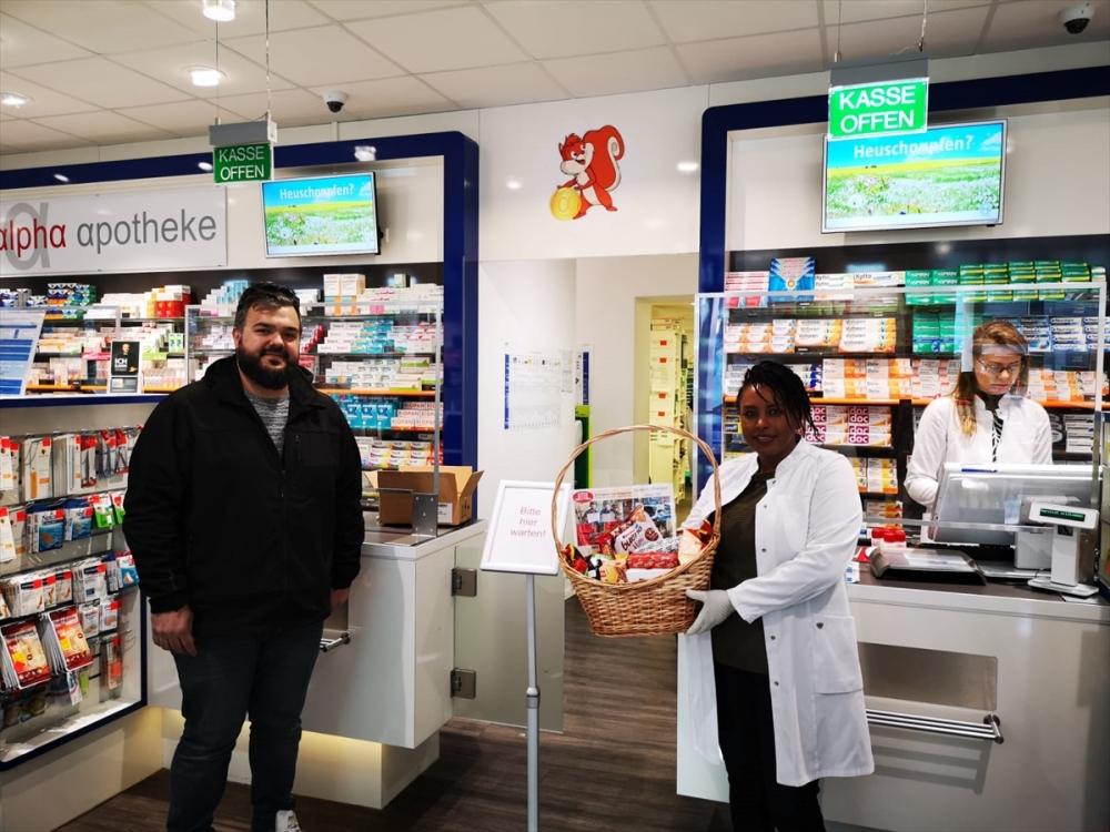 Almanya'daki Türklerden sağlıkçılara destek ziyareti galerisi resim 6
