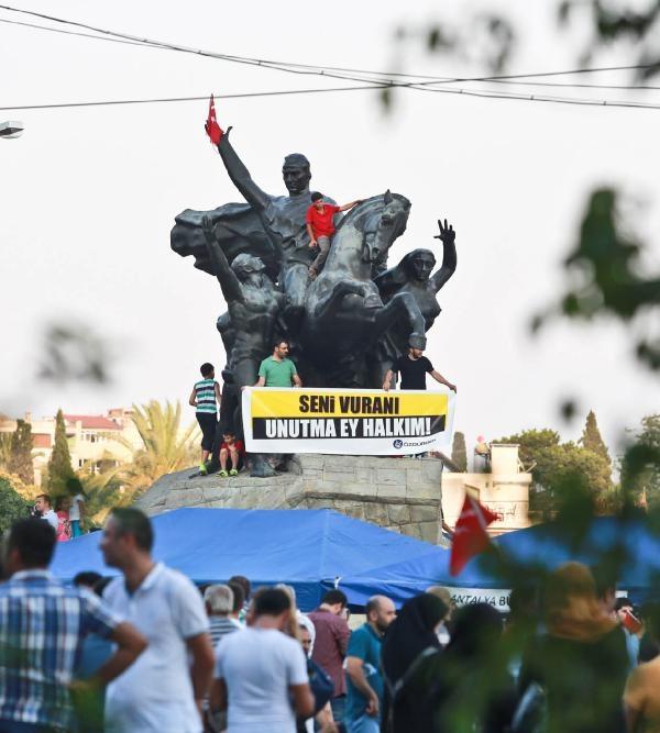 Yurttan darbe girişimi protestoları galerisi resim 16