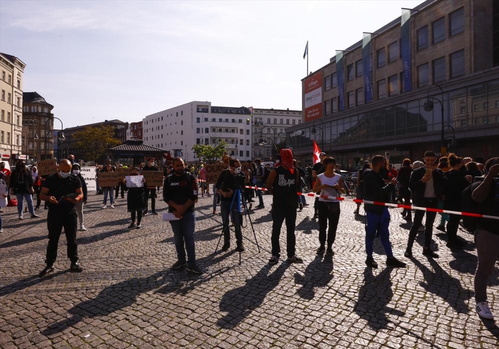 Berlin'de ırkçılık protestosu galerisi resim 11