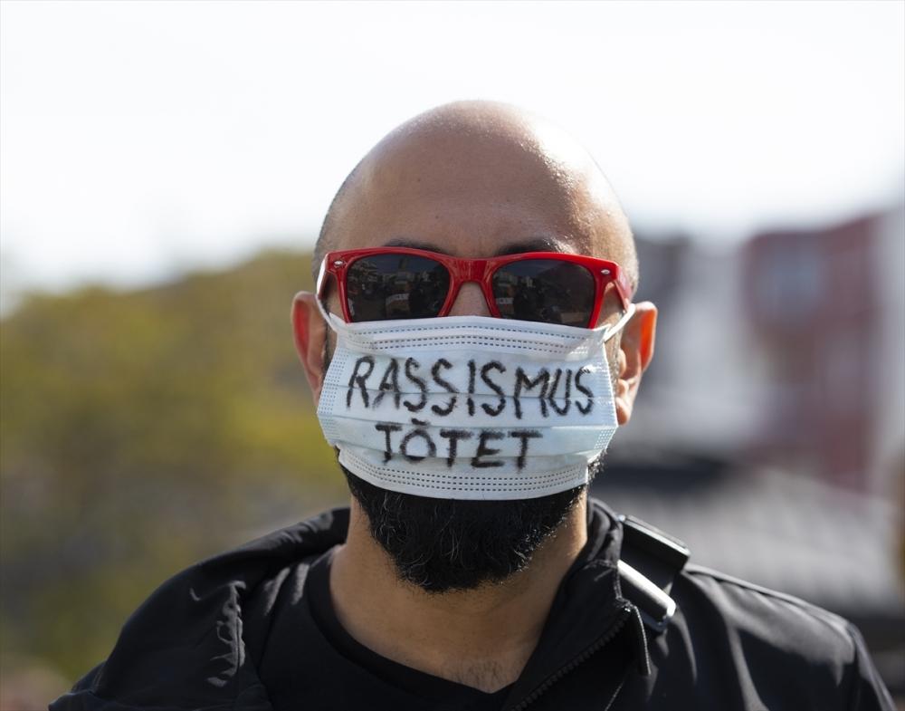 Berlin'de ırkçılık protestosu galerisi resim 14