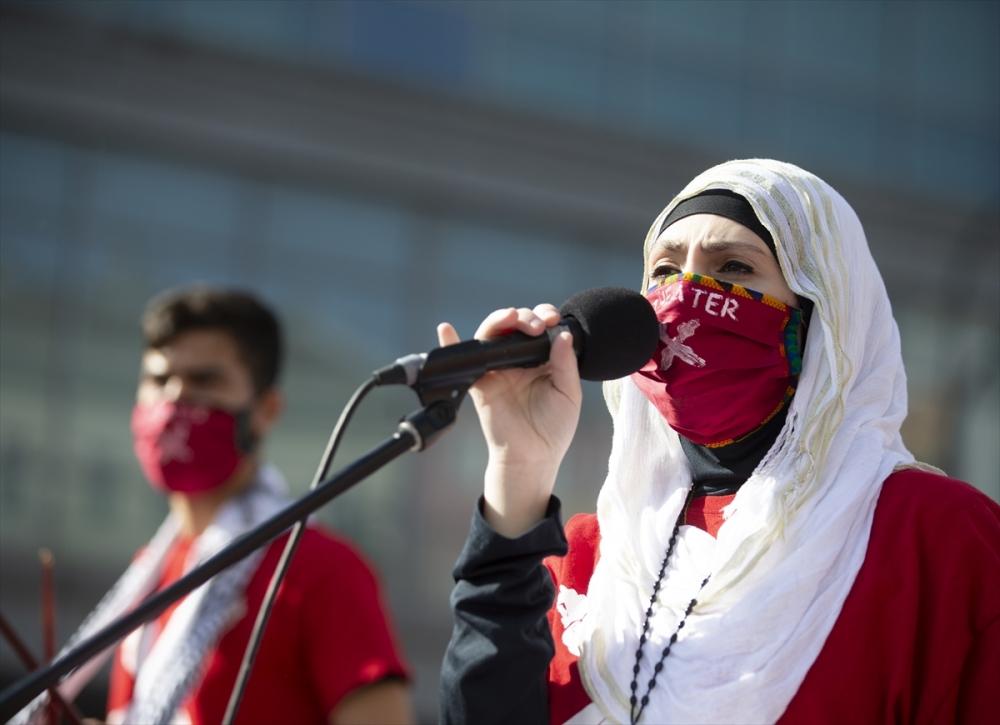 Berlin'de ırkçılık protestosu galerisi resim 16