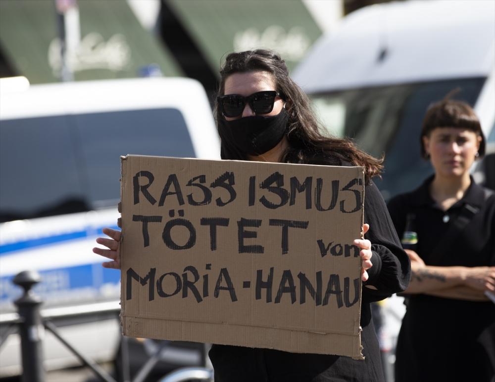 Berlin'de ırkçılık protestosu galerisi resim 25