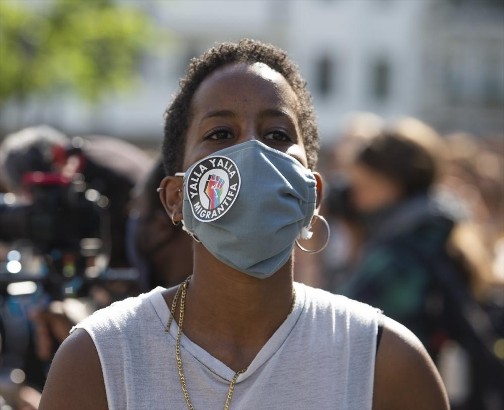 Berlin'de ırkçılık protestosu galerisi resim 7