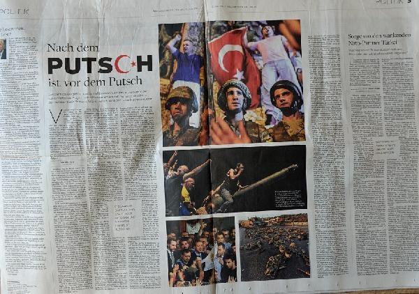 Avrupa basınında 'darbe girişimi' galerisi resim 1