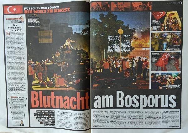 Avrupa basınında 'darbe girişimi' galerisi resim 2