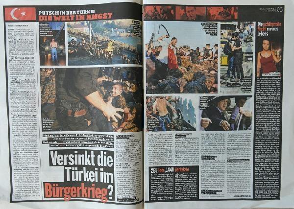 Avrupa basınında 'darbe girişimi' galerisi resim 3