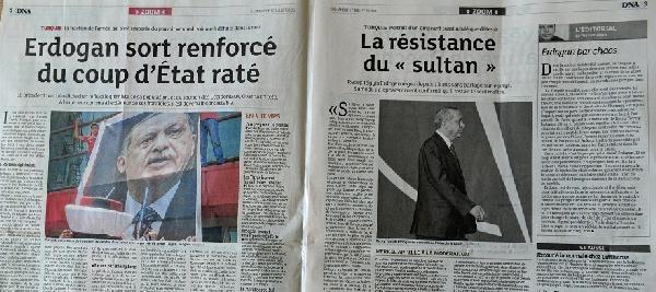 Avrupa basınında 'darbe girişimi' galerisi resim 4