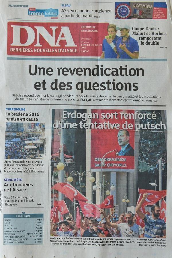 Avrupa basınında 'darbe girişimi' galerisi resim 7