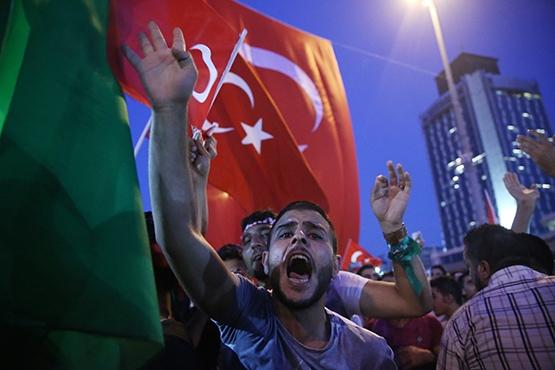 Vatandaşlar demokrasi nöbetinde galerisi resim 2