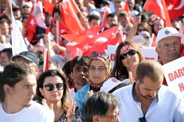 CHP'nin Taksim mitingine ilgi büyük oldu galerisi resim 10