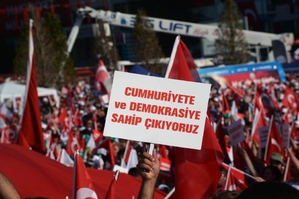 CHP'nin Taksim mitingine ilgi büyük oldu galerisi resim 11