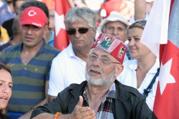 CHP'nin Taksim mitingine ilgi büyük oldu galerisi resim 12