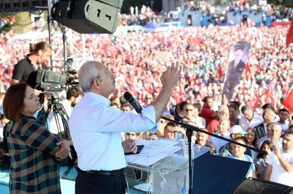 CHP'nin Taksim mitingine ilgi büyük oldu galerisi resim 14