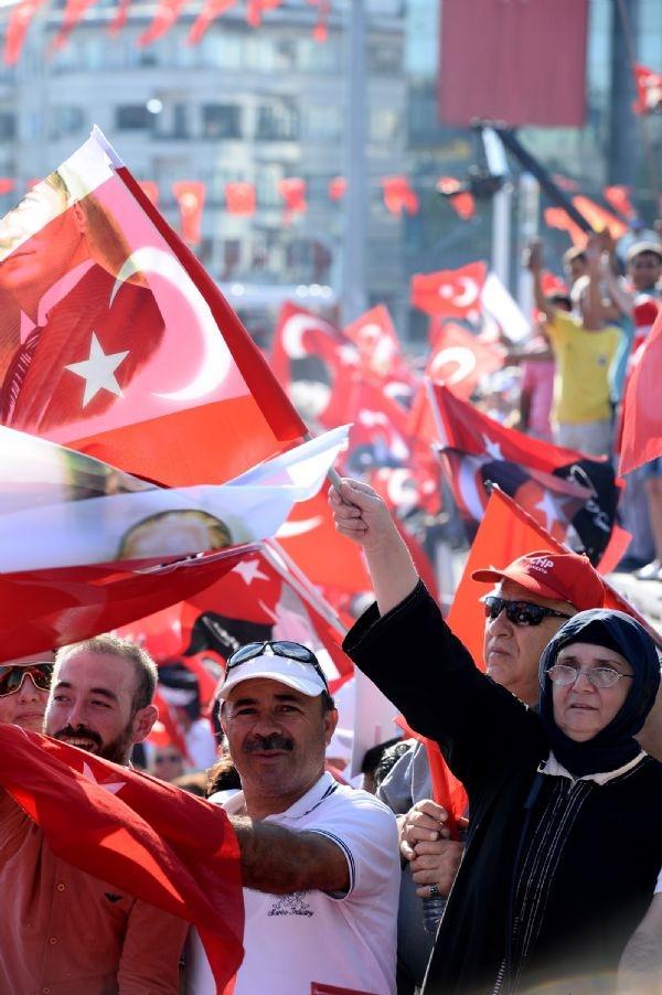 CHP'nin Taksim mitingine ilgi büyük oldu galerisi resim 2