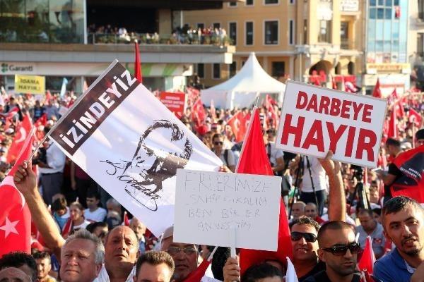 CHP'nin Taksim mitingine ilgi büyük oldu galerisi resim 4