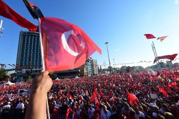 CHP'nin Taksim mitingine ilgi büyük oldu galerisi resim 7