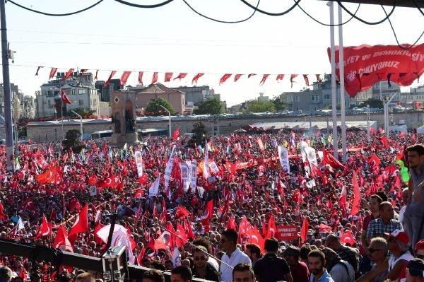 CHP'nin Taksim mitingine ilgi büyük oldu galerisi resim 8