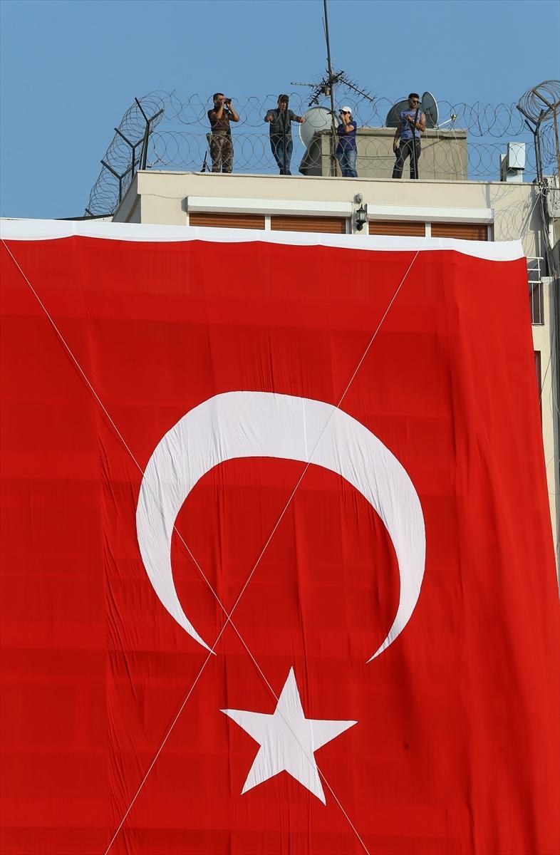 İzmir'de 'Cumhuriyet ve Demokrasi' coşkusu galerisi resim 10