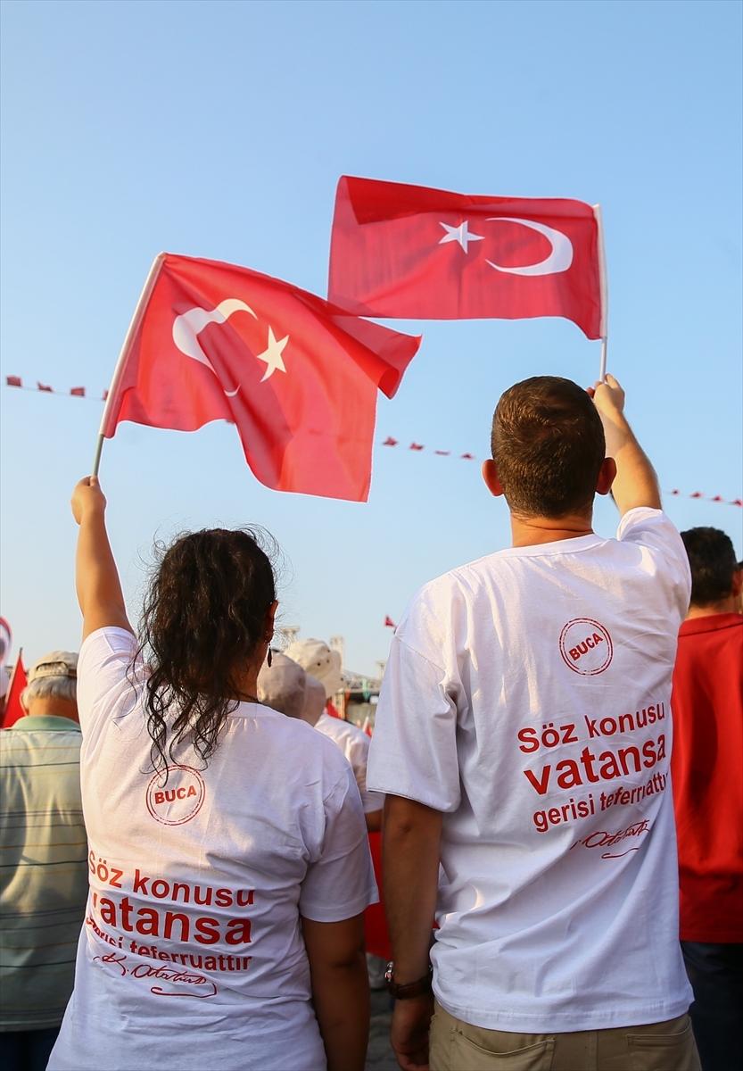 İzmir'de 'Cumhuriyet ve Demokrasi' coşkusu galerisi resim 14