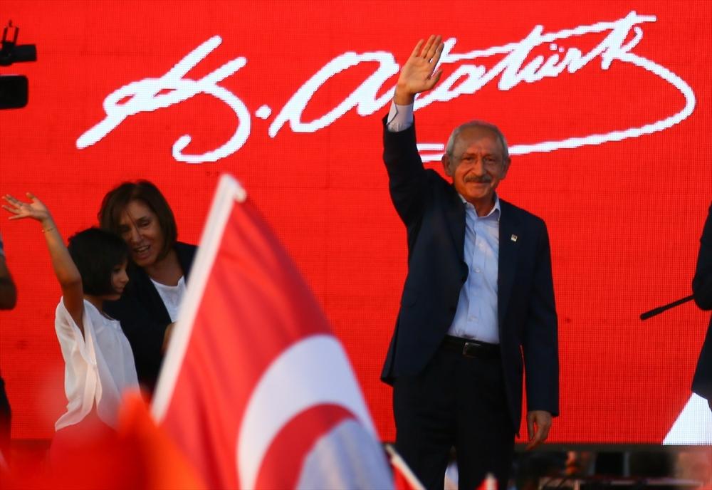 İzmir'de 'Cumhuriyet ve Demokrasi' coşkusu galerisi resim 20