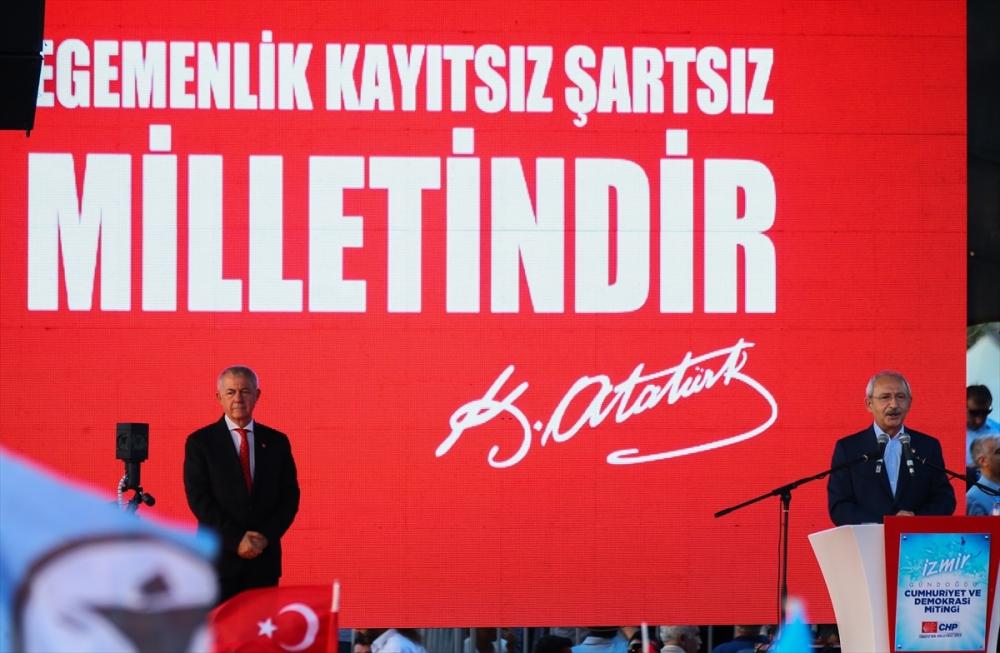 İzmir'de 'Cumhuriyet ve Demokrasi' coşkusu galerisi resim 21