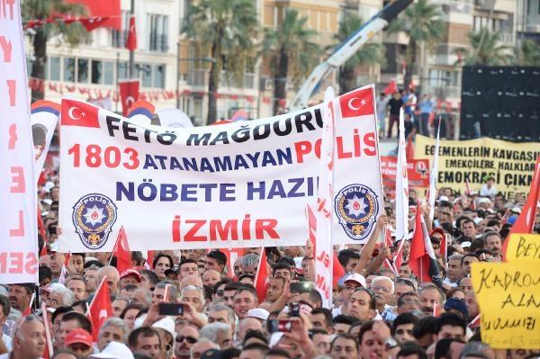 İzmir'de 'Cumhuriyet ve Demokrasi' coşkusu galerisi resim 30