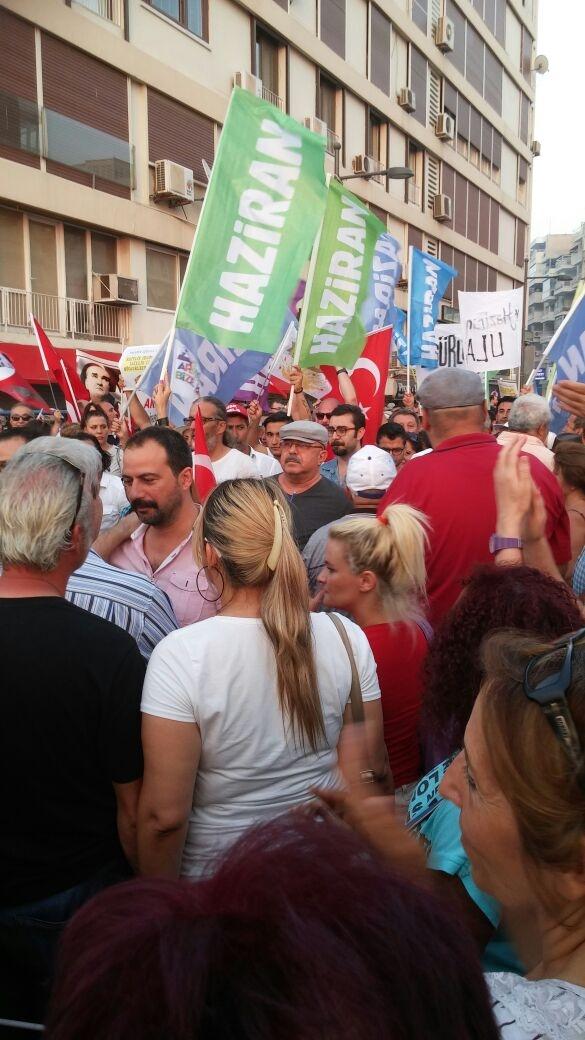 İzmir'de 'Cumhuriyet ve Demokrasi' coşkusu galerisi resim 39