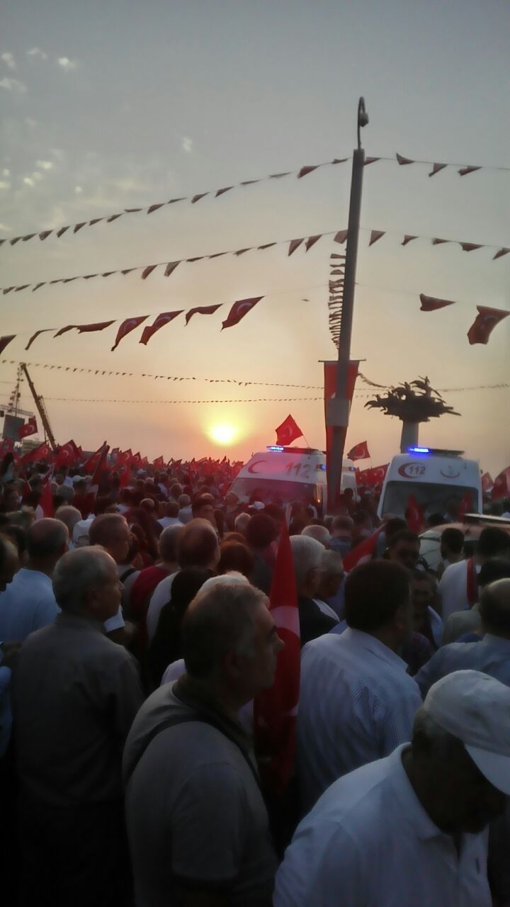 İzmir'de 'Cumhuriyet ve Demokrasi' coşkusu galerisi resim 41