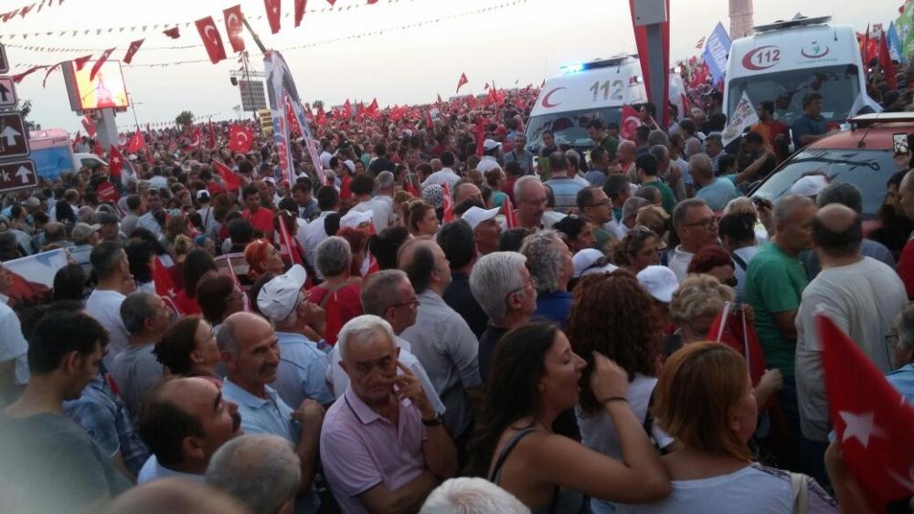 İzmir'de 'Cumhuriyet ve Demokrasi' coşkusu galerisi resim 44