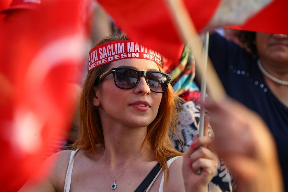İzmir'de 'Cumhuriyet ve Demokrasi' coşkusu galerisi resim 8