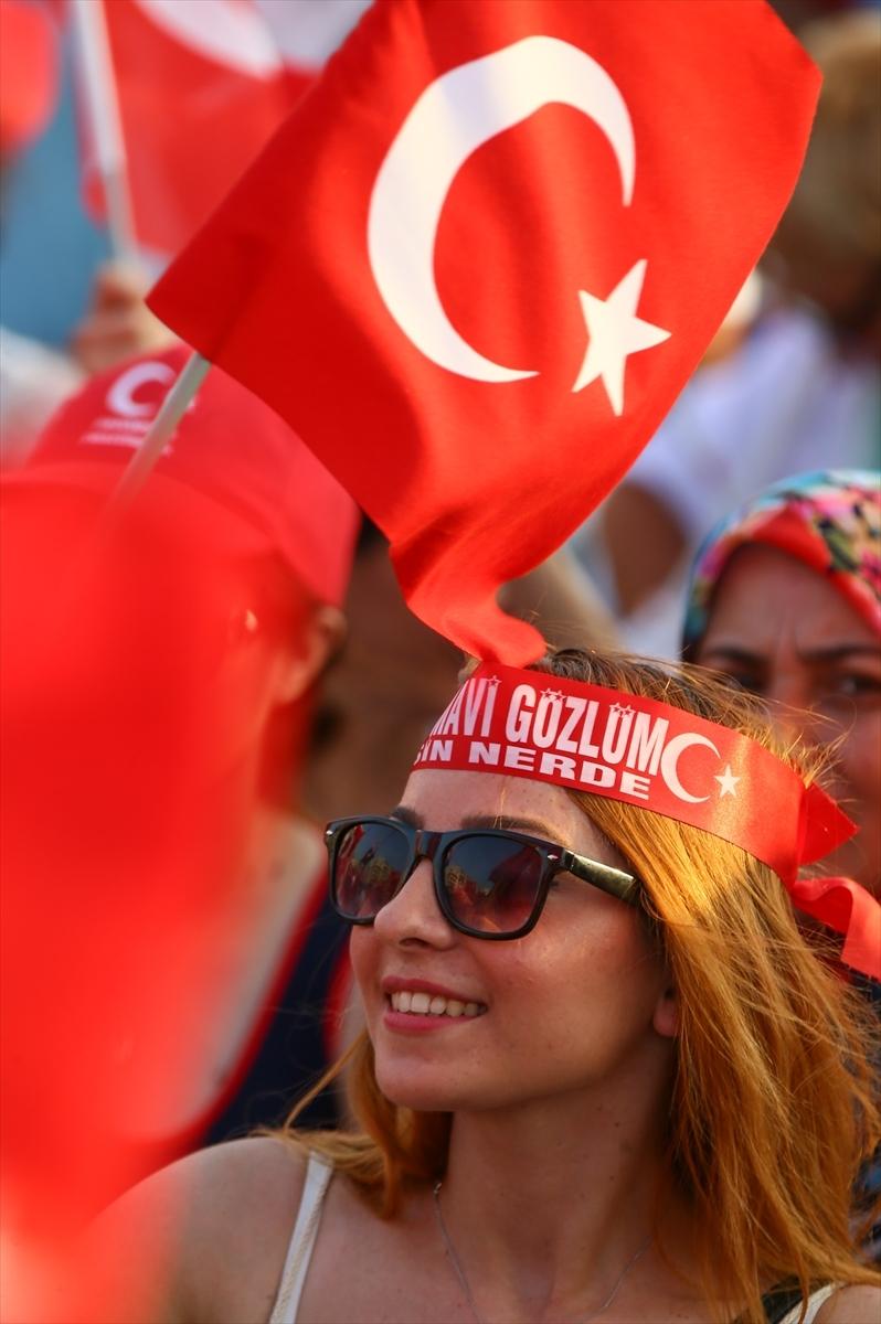 İzmir'de 'Cumhuriyet ve Demokrasi' coşkusu galerisi resim 9