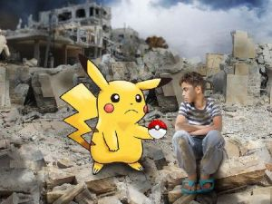 Pokemon da savaşa karşı