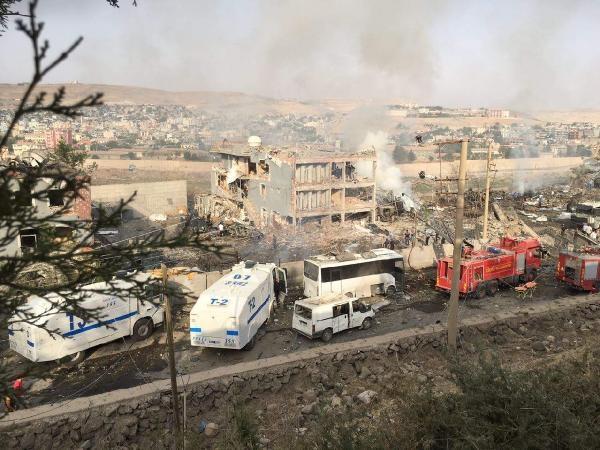 Cizre'de hain saldırı: 8 şehit galerisi resim 1