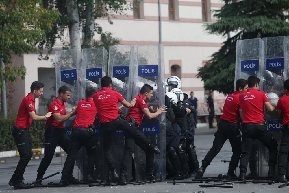 Ukraynalı polislere Türkiye'de eğitim galerisi resim 10