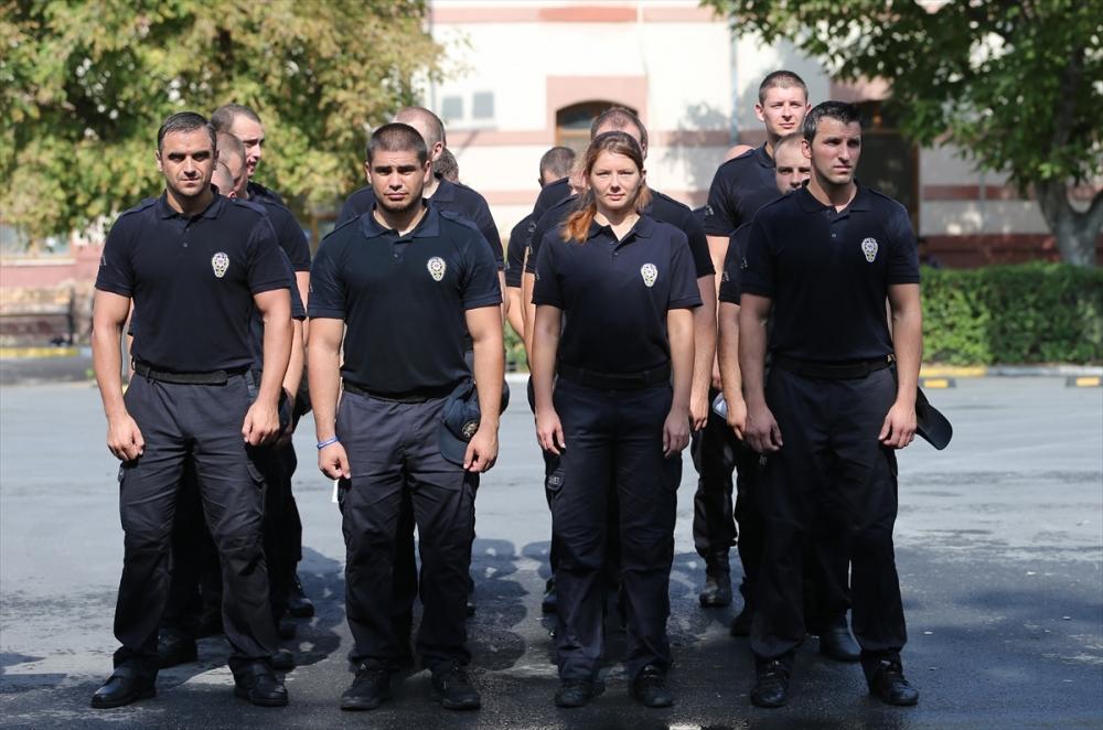 Ukraynalı polislere Türkiye'de eğitim galerisi resim 12