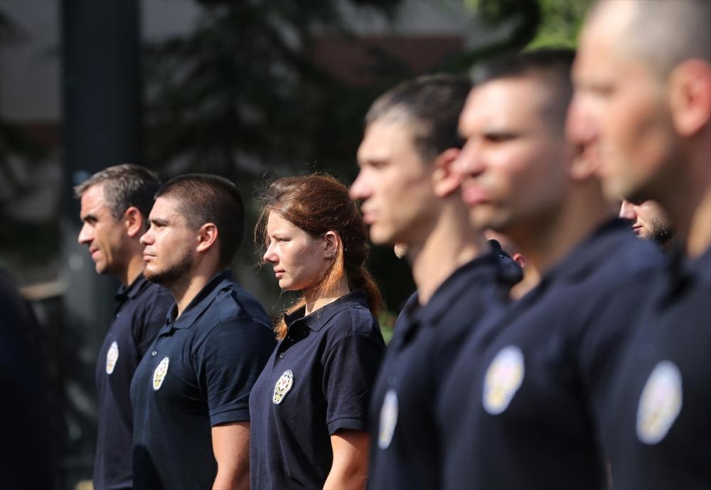 Ukraynalı polislere Türkiye'de eğitim galerisi resim 4