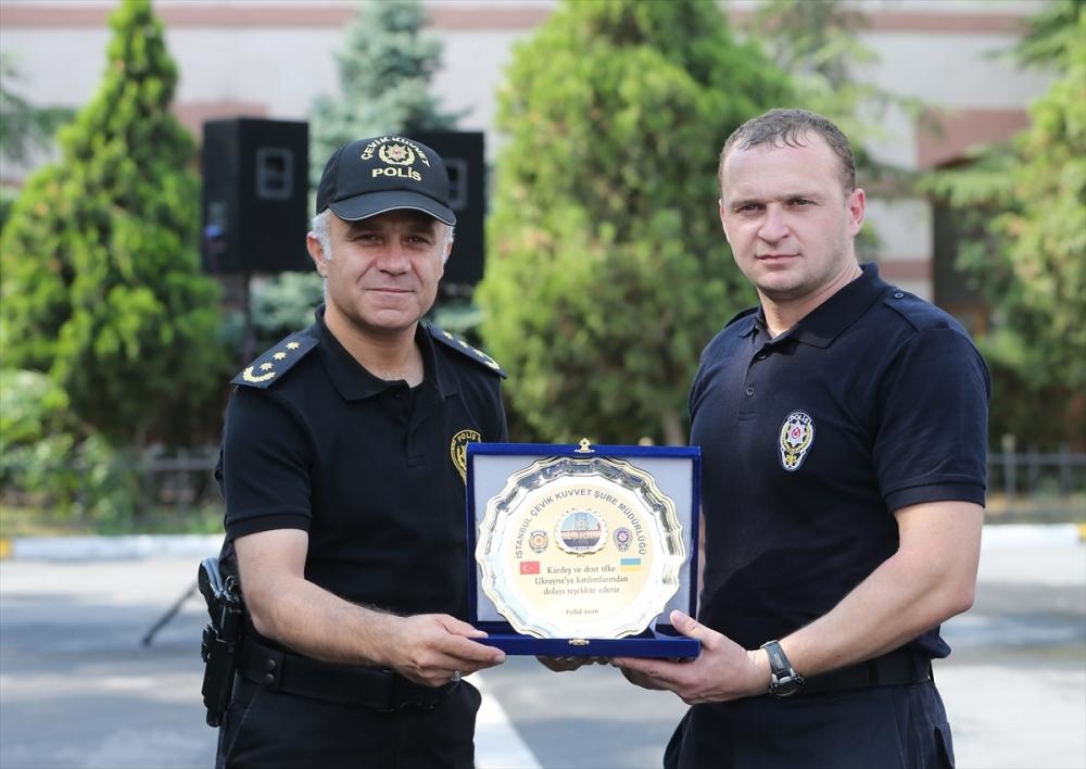 Ukraynalı polislere Türkiye'de eğitim galerisi resim 6