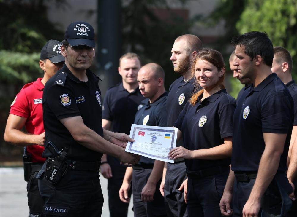 Ukraynalı polislere Türkiye'de eğitim galerisi resim 7
