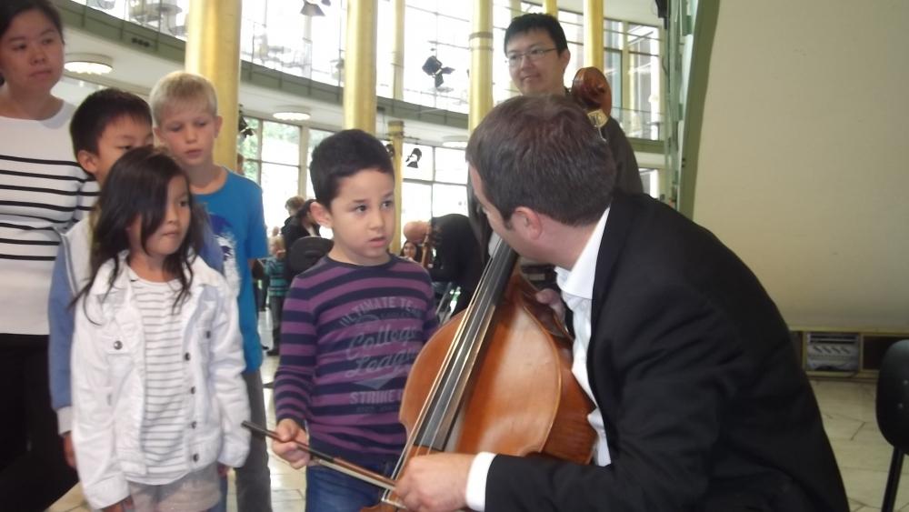 Çocuklara müzik sevgisi aşılandı galerisi resim 5
