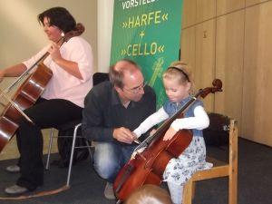 Çocuklara müzik sevgisi aşılandı