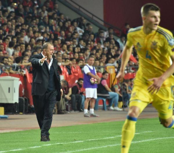 Türkiye - Ukrayna maçından kareler galerisi resim 10