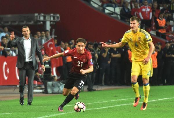 Türkiye - Ukrayna maçından kareler galerisi resim 14