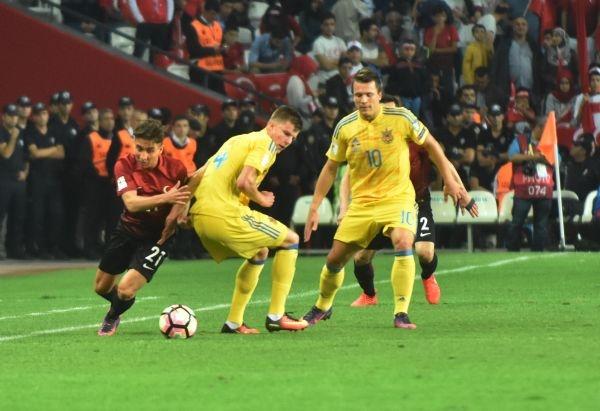 Türkiye - Ukrayna maçından kareler galerisi resim 15